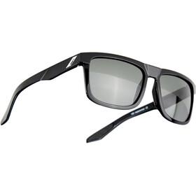 100% Blake Glasses polished black/grey peakpolar